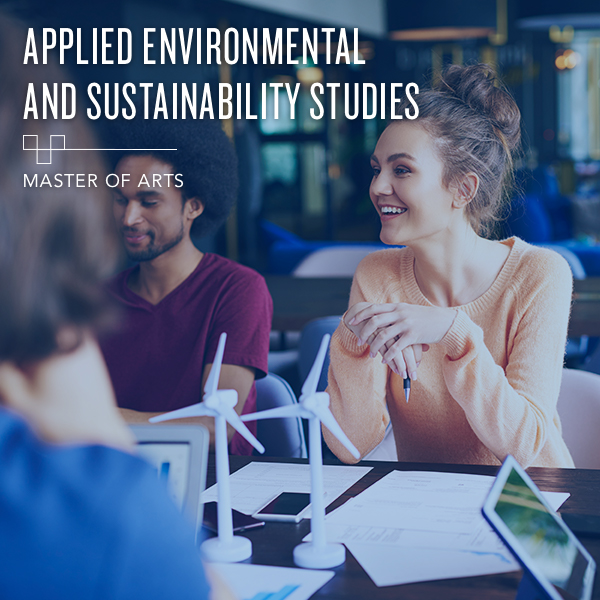 Applied Environmental and Sustainability Studies (AES) - Master's Degree