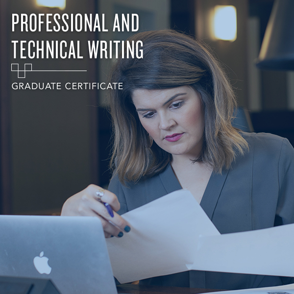 Professional and Technical Writing - Graduate Certificate